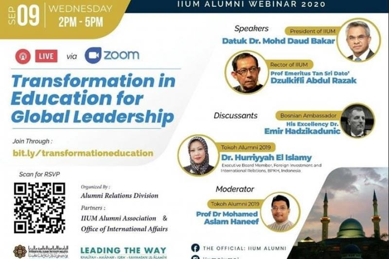 IIUM Alumni Webinar…