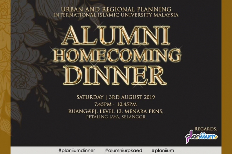 URP Alumni Homecoming Dinner…