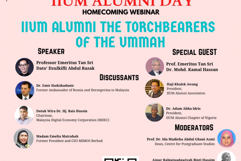 IIUM ALUMNI DAY : HOMECOMING…