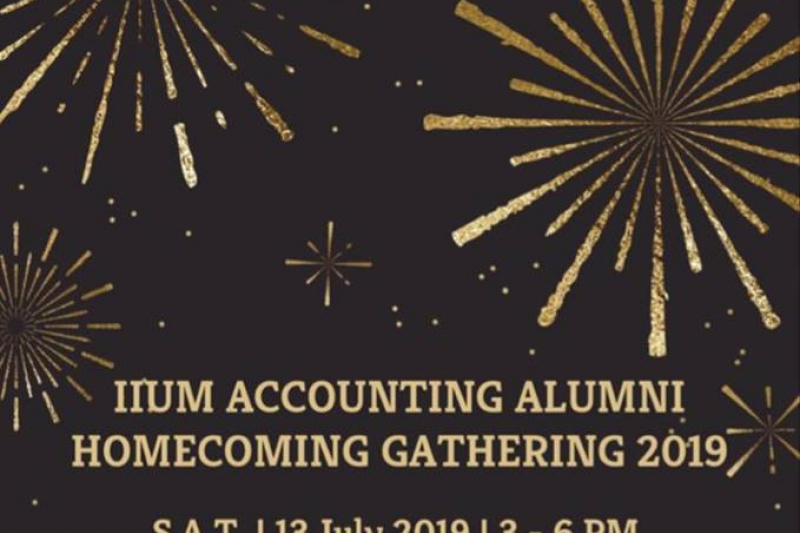 IIUM ACCOUNTING ALUMNI HOMECOMING…