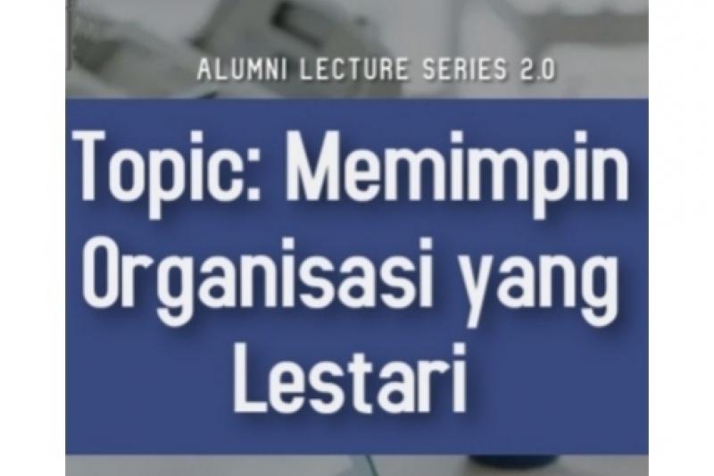 Alumni Lecture Series 2.0