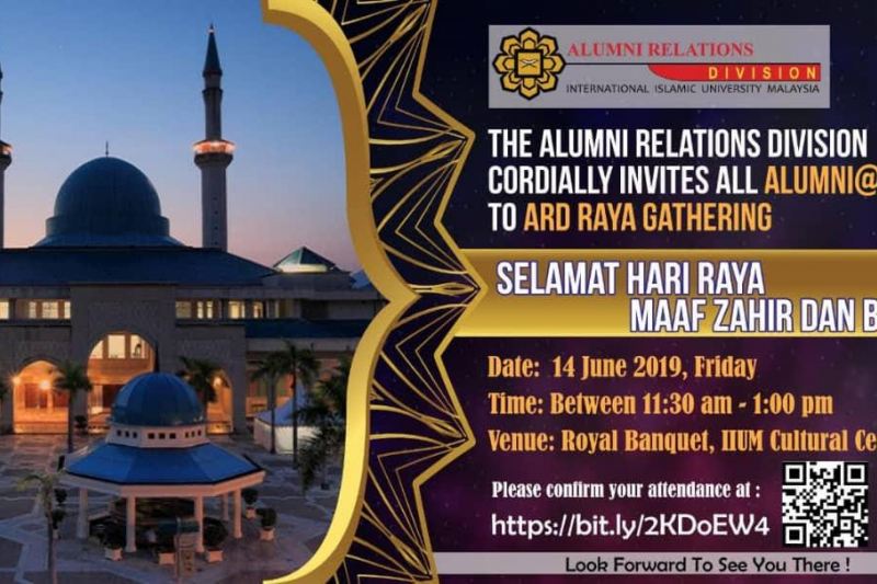 Invitation to ARD Raya Gathering